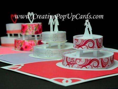 pop cake wedding invitations Pinterest Wedding, Birthdays - birthday cake card template