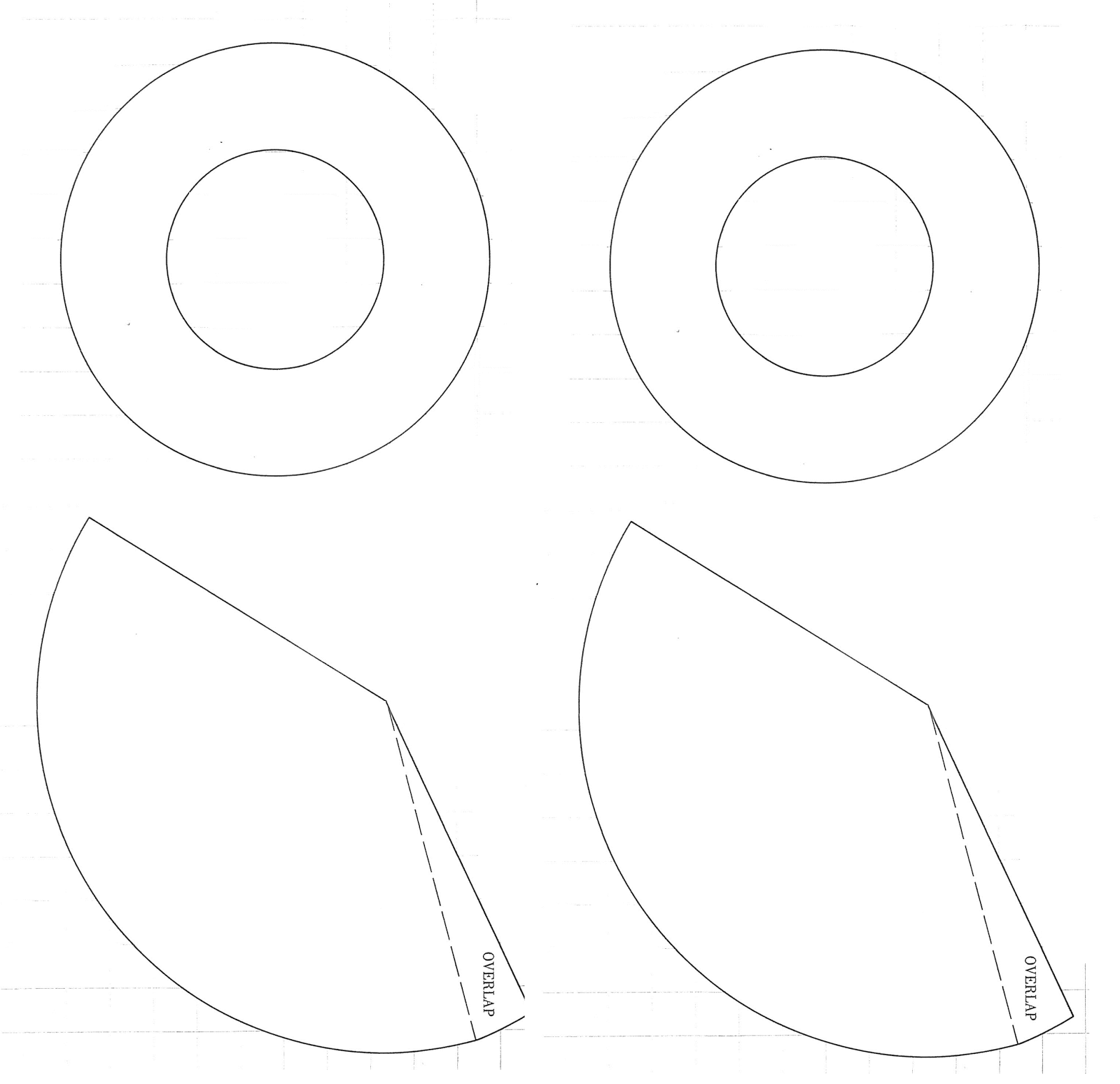 Witch S Hat Templates