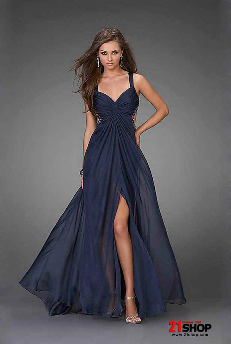 Long blu dress moda pinterest long navy blue dress navy blue