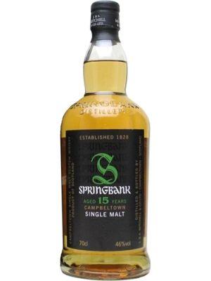 Whisky Ix Springbank 15 Jahre Tasting Notes Dunkle Schokolade Feigen Marzipan Paranusse Und Vanillearomen Vere Vanille Aroma Dunkle Schokolade Whisky