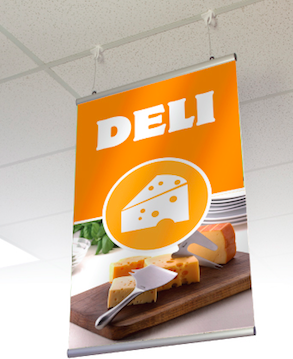 DELI Advertising Vinyl Banner Flag Sign Many Sizes Available USA