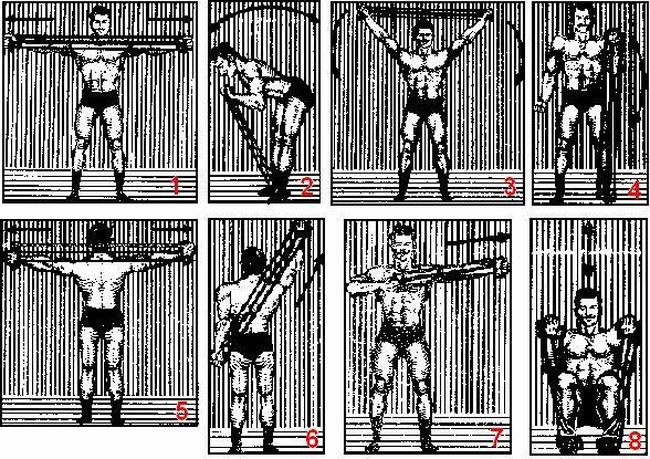 этом сообщает картинки с упражнениями на силу в руках для формовки штамповки