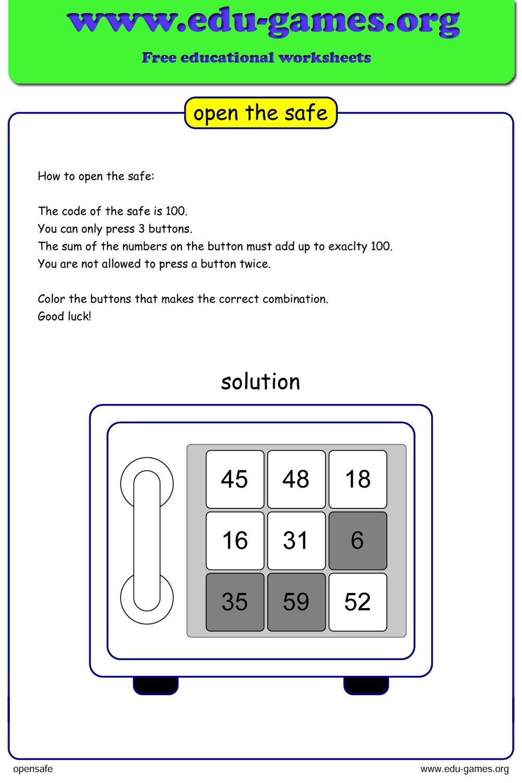 48db6e0c37e2f2788c63ed3db9e1850d Open Source Math Worksheet Generator on