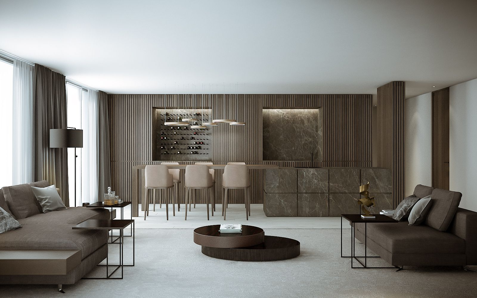 Zurich Family Home High Quality Render And Virtual Tour