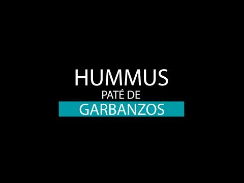 Hummus casero | | Recetas Clean Eating | FitFood 4K - YouTube