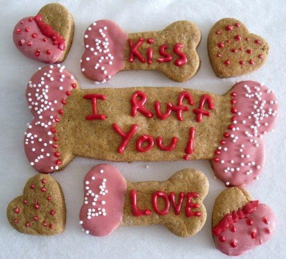 Gourmet Dog Treats For Valentines Day Dog Treats Pinterest