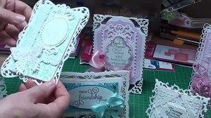 Christina Griffiths - Spellbinders Filigree Hinged Card