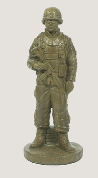 Wonderful Statues Standing Soldier