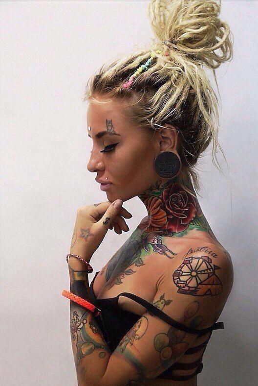 sexy dread locks girl art