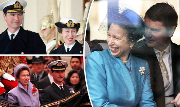 Sir Tim Laurence and his wife Princess Anne in pictures
