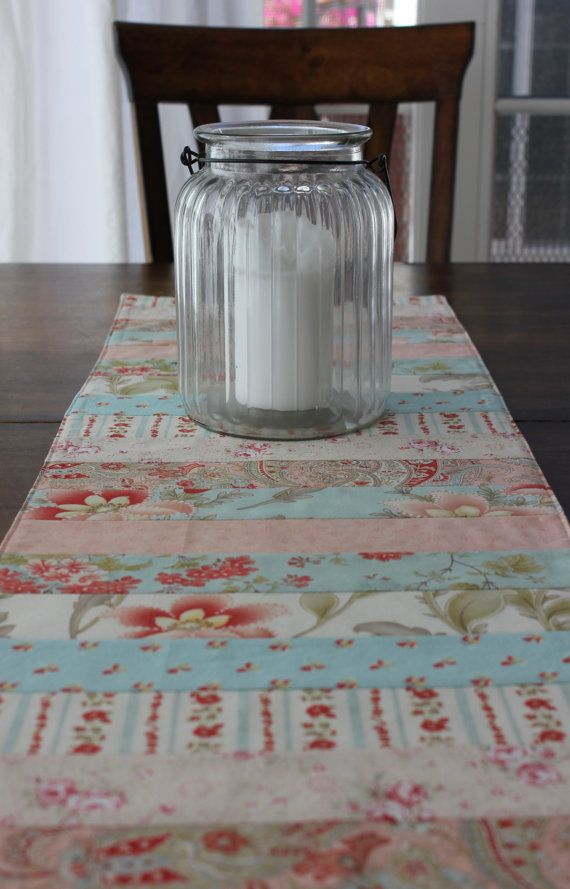 table shabby chic placemats spring table runner patchwork table runner table topper