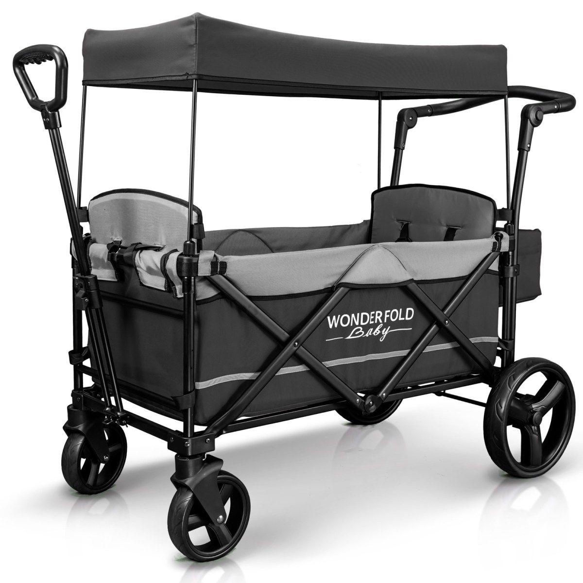 X2 Push/Pull 2Passenger Stroller Wagon (Gray) Stroller