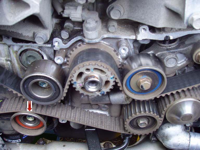 Timing Belt  Remove Belt Idler  Subaru  Subaruidiots  Wrx