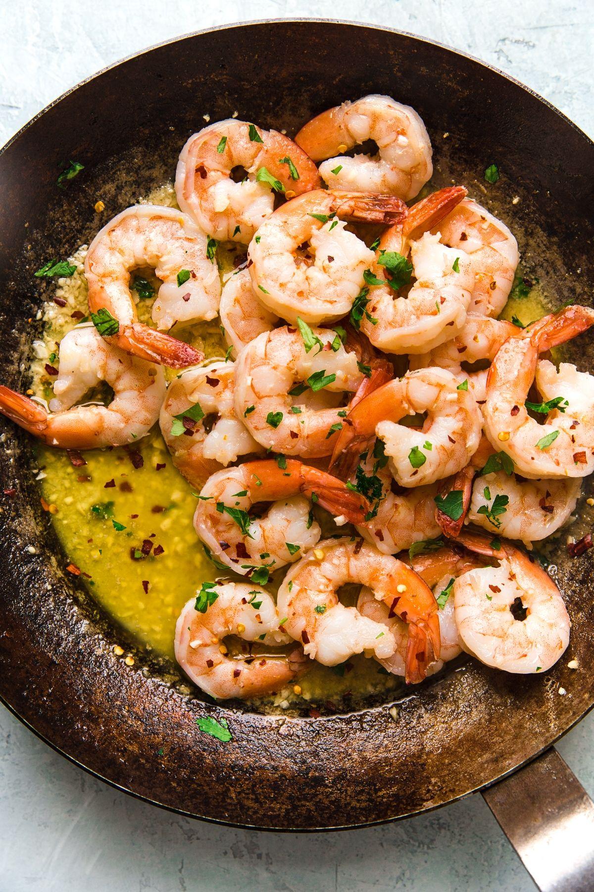 Shrimp Scampi The Modern Proper Recipe Buttery Shrimp Shrimp Recipes Easy Ways To Cook Shrimp