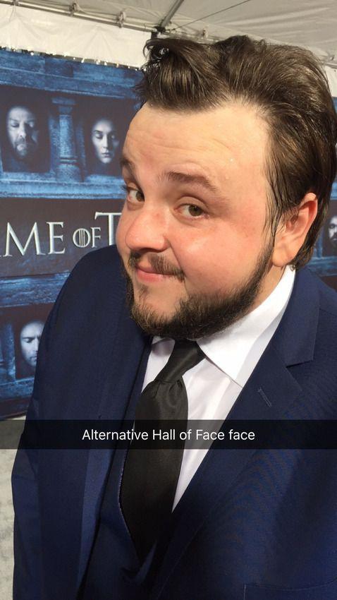 John Bradley's alternative face for the Hall of Faces
