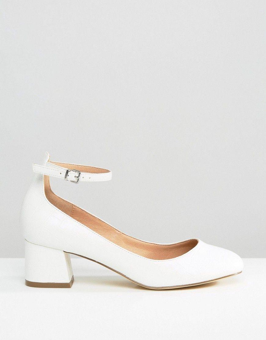 Kurt Geiger London Isabella Ankle Strap Sandal, 4 heel