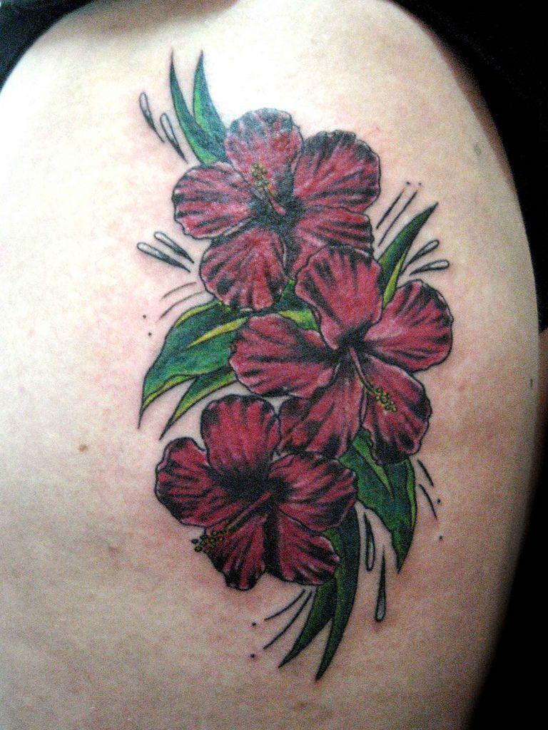 Tatuaje hibiscus pupa tattoo granada hibiscus tattoo tattoo and hibiscus tattoo granada izmirmasajfo