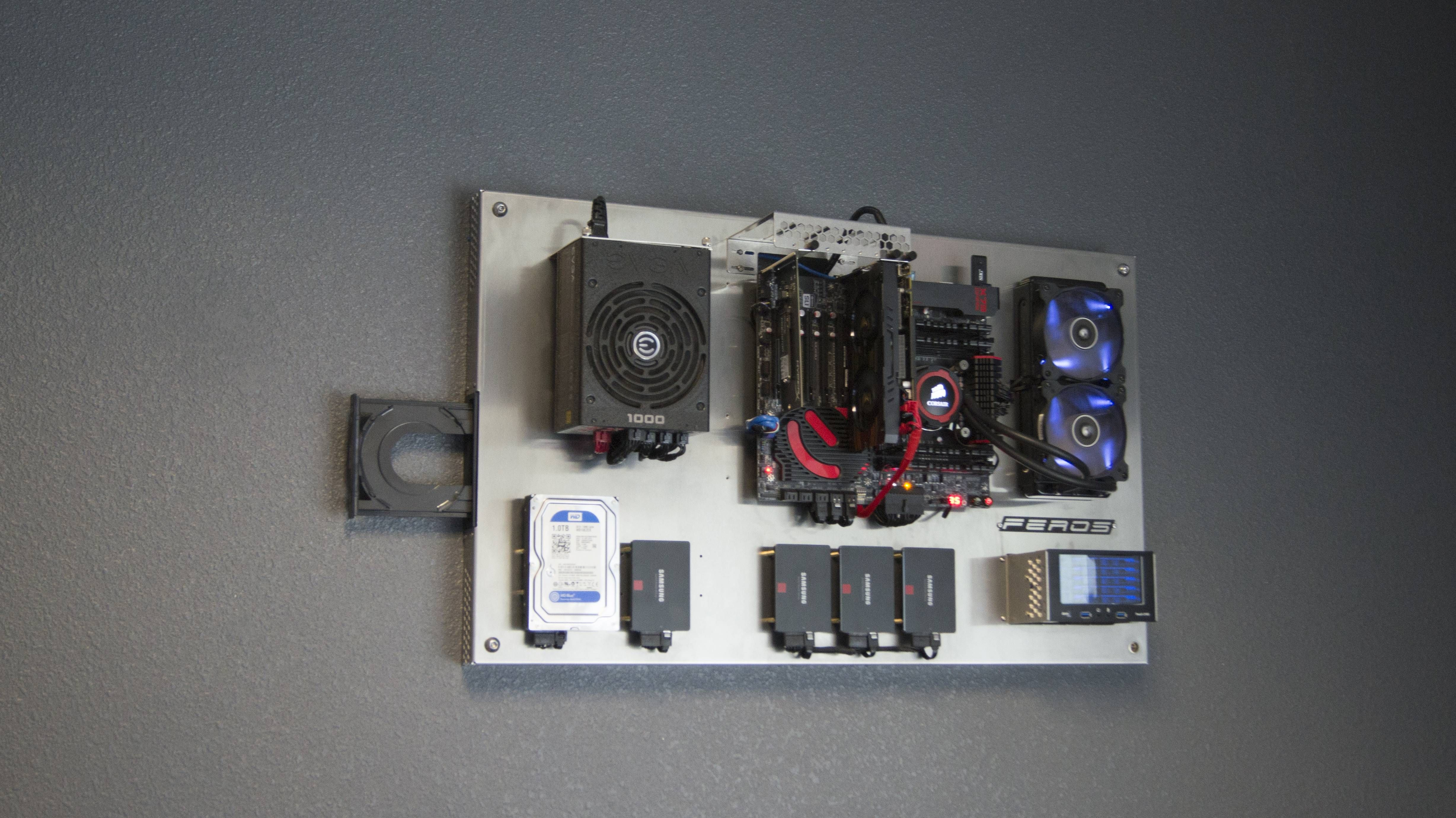 The Benefits of Having a Wall Mounted PC