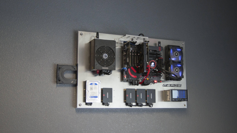 Evolution Of Feros wall mounted PC case | Pinterest | Pc ...