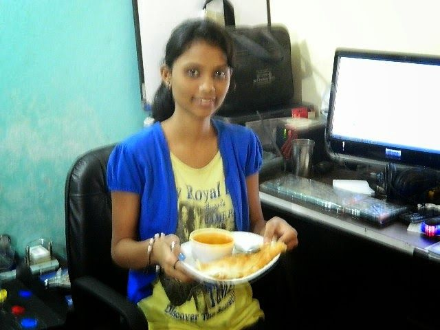 Best Youngest Woman Photographer Aviation News Editor in Asia: How To Preapre Crispy Masala Dosa