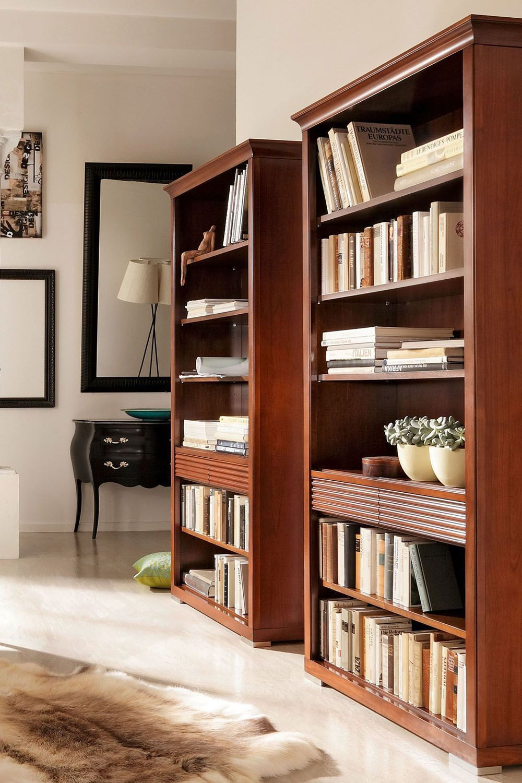 Bücherregal Luna Von Selva Timeless Kirschbaum Möbel Regal Bücherregal