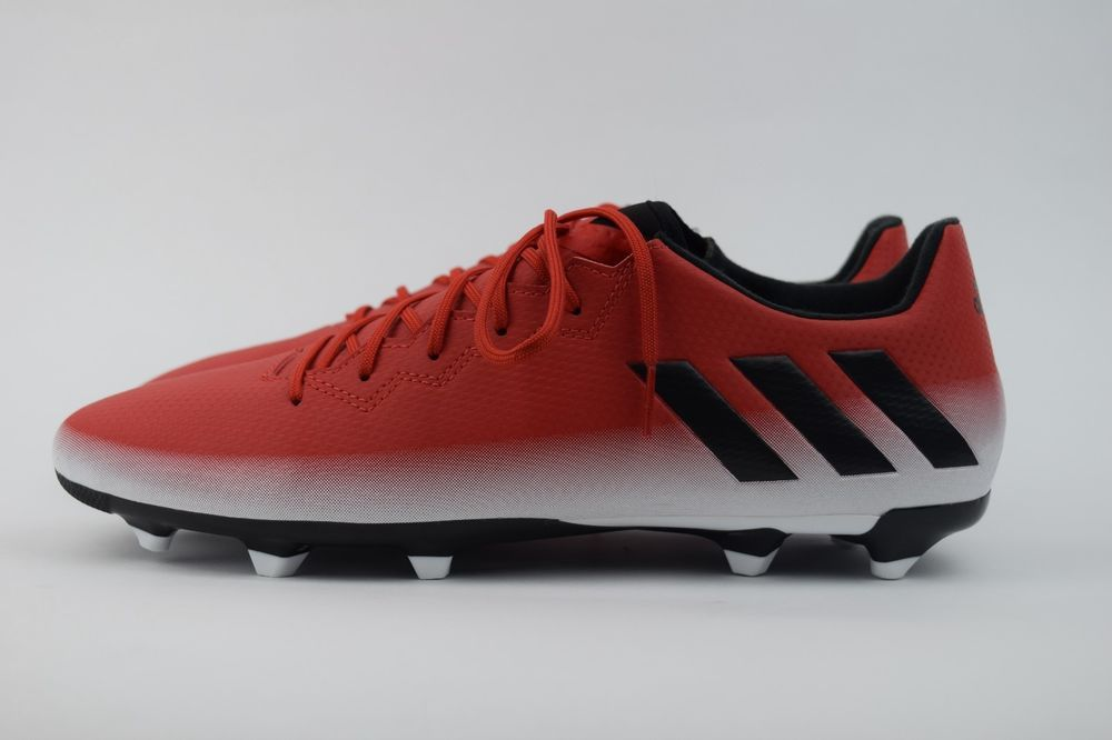 670f1ad3487 Adidas Leo MESSI 16.3 FG Soccer Cleats Shoes Red Mens Size 10 BA9020 (eBay  Link)