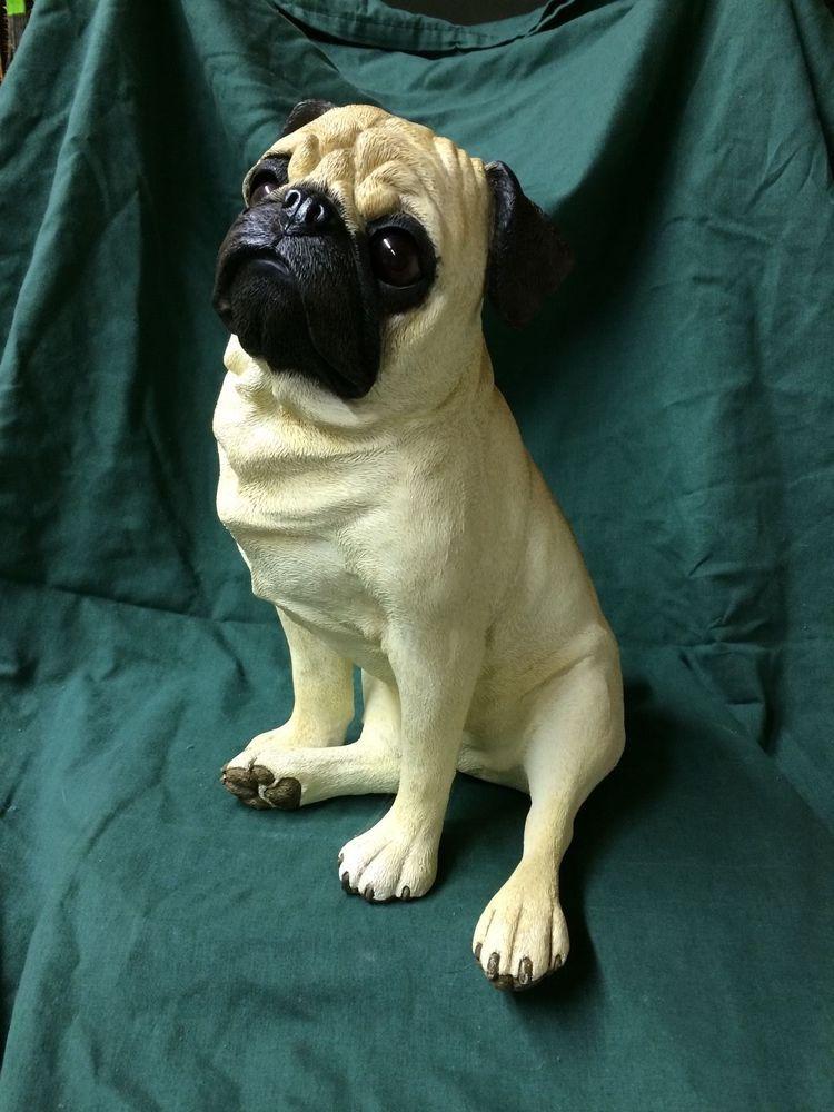 Life Size Pug Statue Pugs Dog Art Pug Art