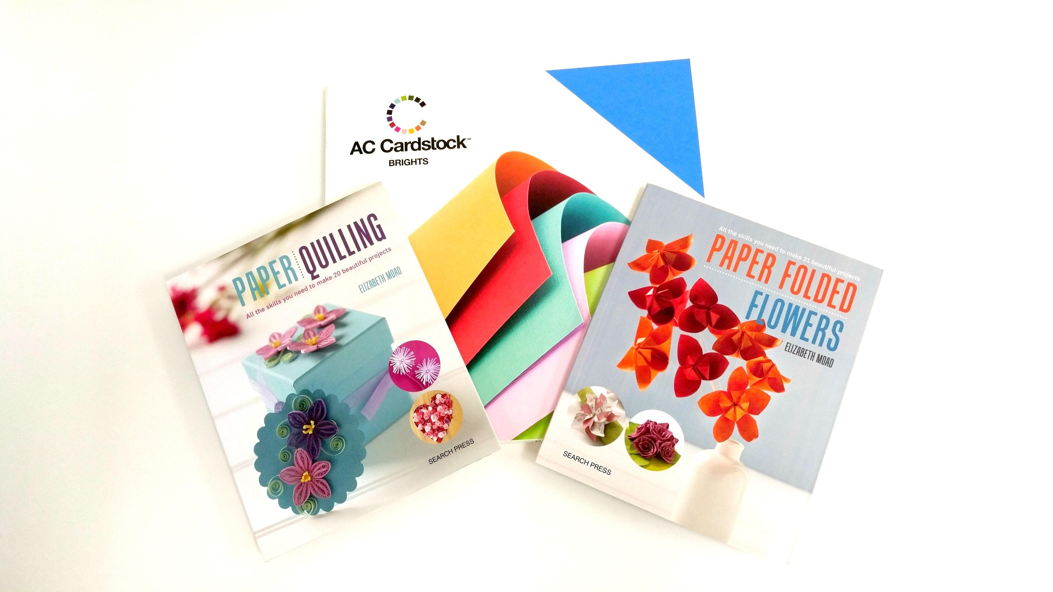 Calming Paper Folded Flowers Kit Giveaway Flor