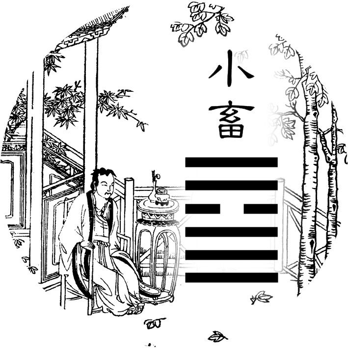 09. |||¦|| - Small Accumulating (小畜 xiǎo chù)