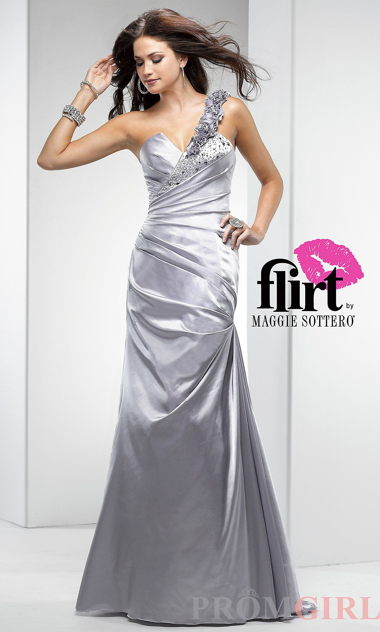 Prom dresses celebrity dresses sexy evening gowns at promgirl one