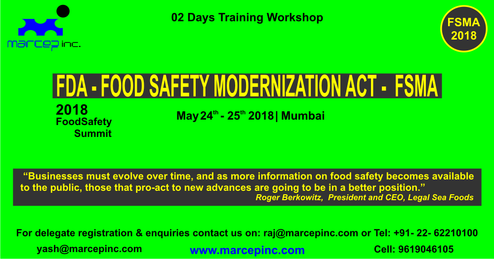The Most Important Outcome Expected Out Of This Program Is The Advancement Of Knowledge Among Food Industry Professionals To Un Food Safety Train Food Industry