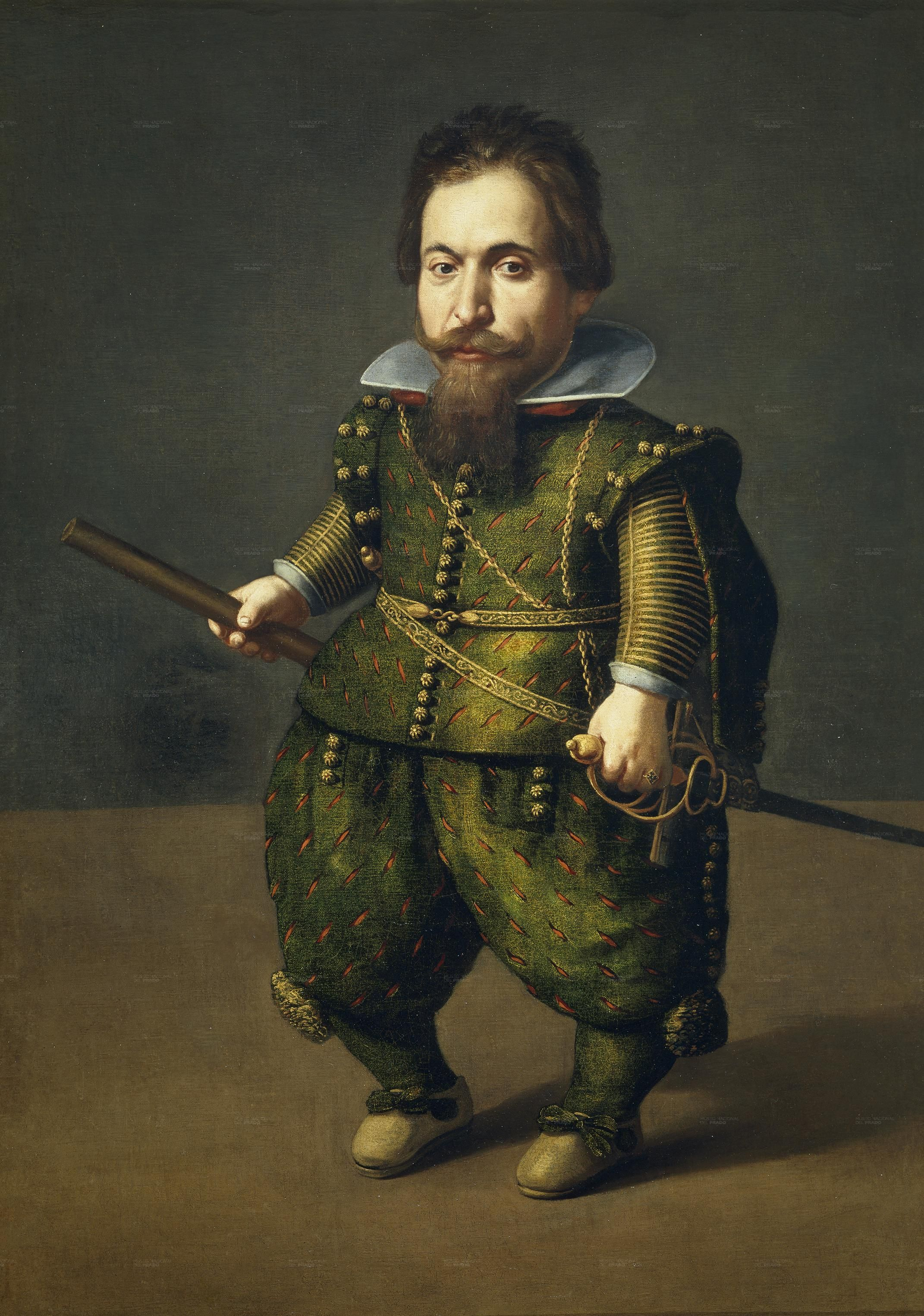 Хуан Ван Дер Хамен -  Портрет Карлика 1626