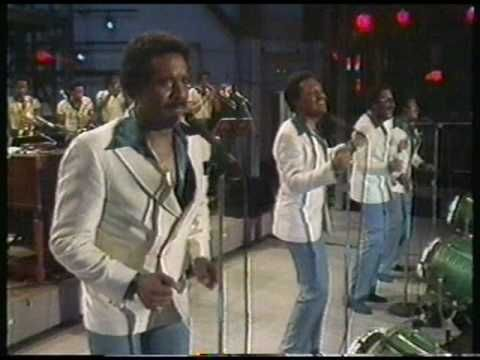A live performance by The Four Tops, of their last Billboard