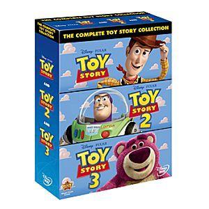 Toy Story Dvd Box Set Disney Storetoy Story Dvd Triple Pack Toy Story Dvd Box Set Contains Toy Story 1 2 3 On Dvd Toy Story Toy Story 3 Blu Ray Movies