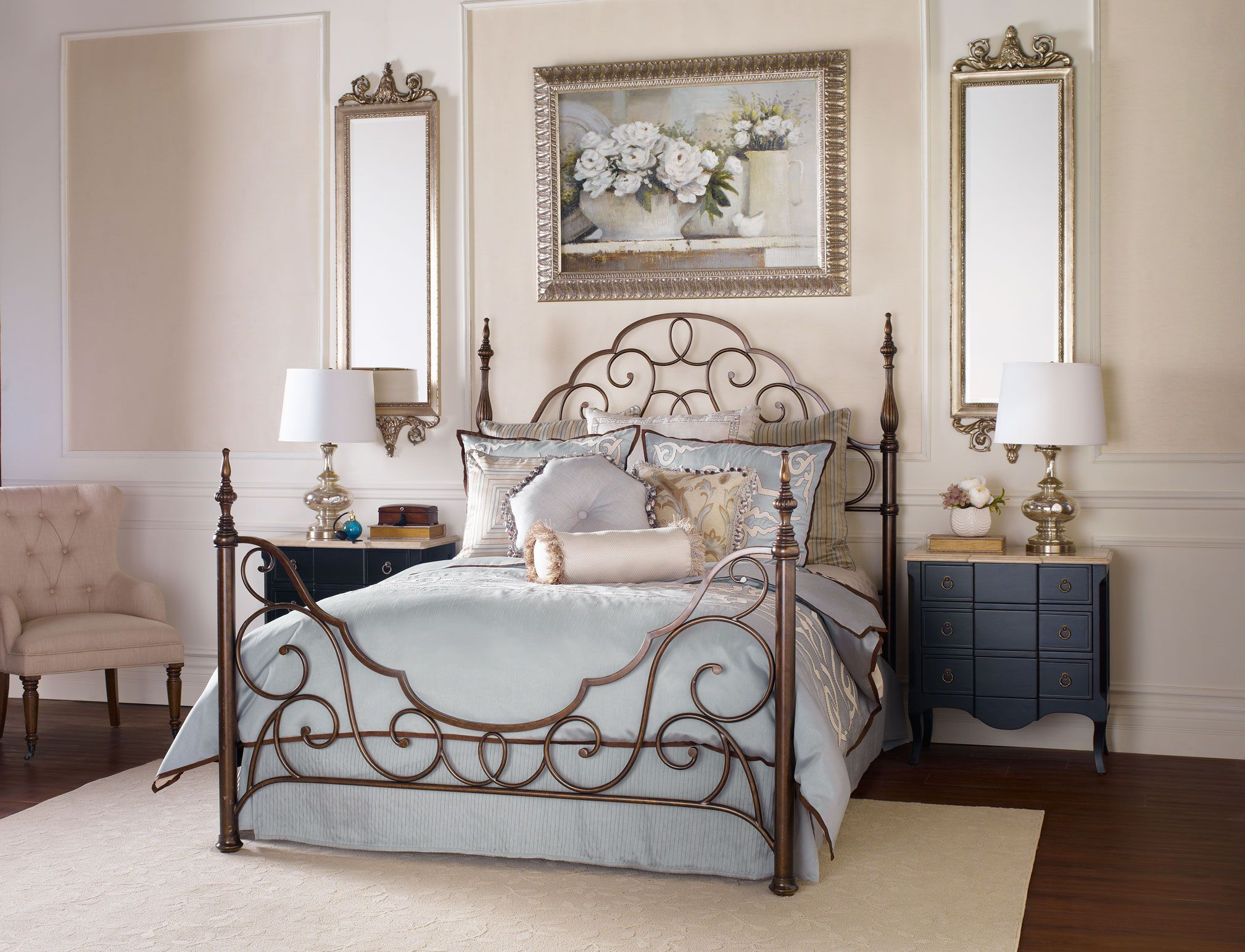 Bombay Co Inc Bedroom Beds Deauville Bed King