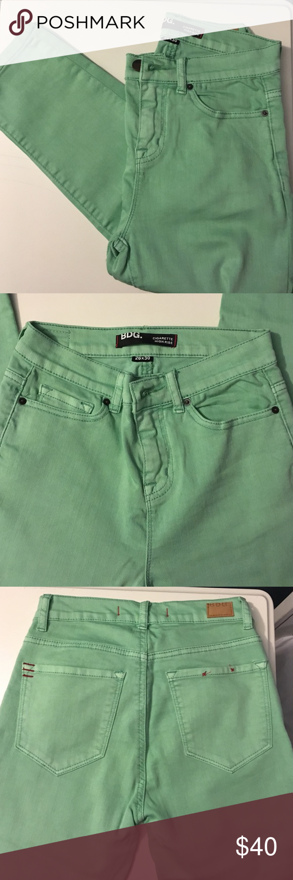 to wear - Green Mint skinny jeans urban outfitters pictures video
