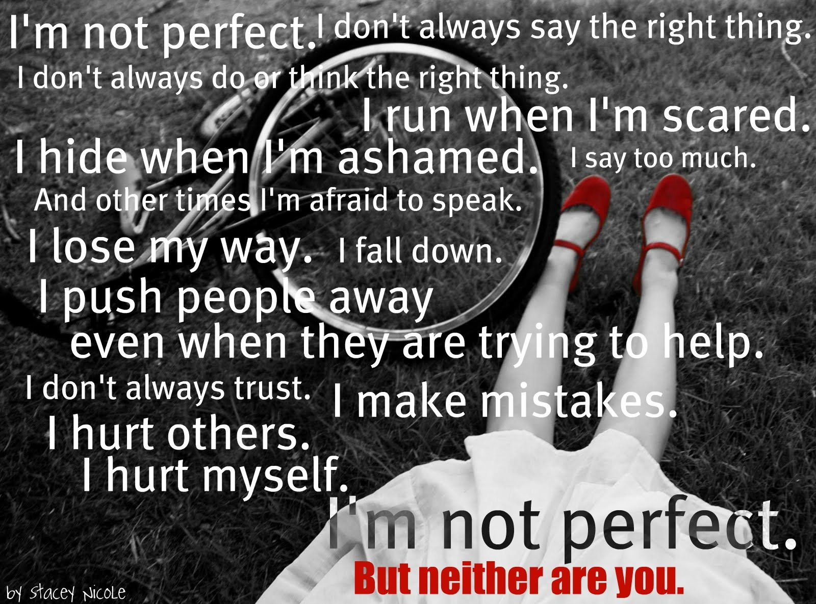 Proud To Be Unperfect | Quotes For Life | Quotes and