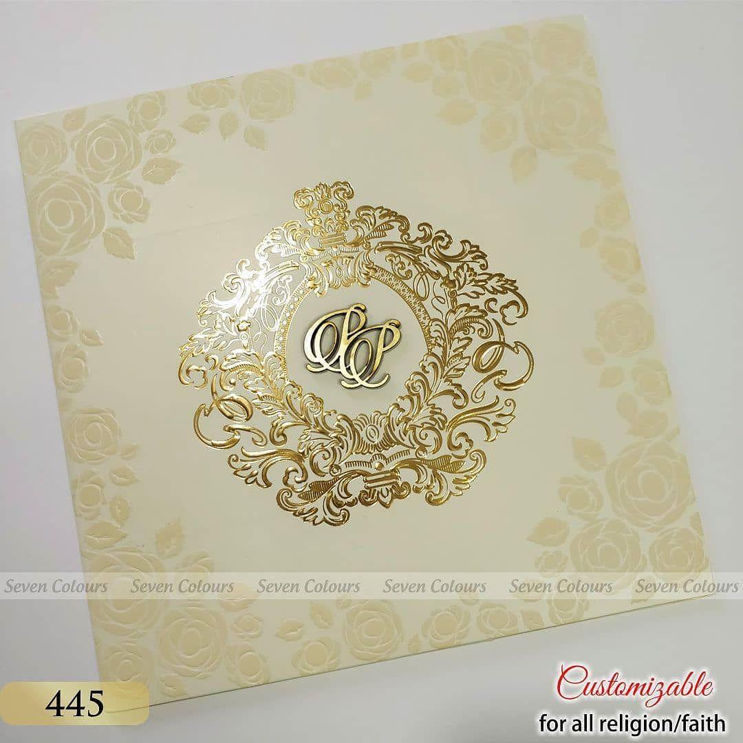 Matte ivory card stock. Foil printed emblem design. 3D logos ...