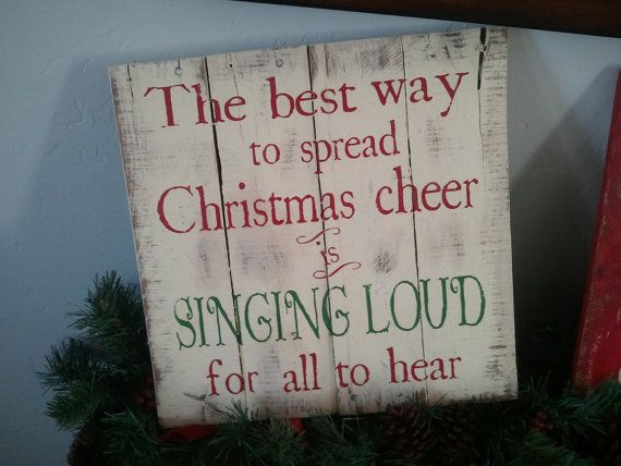 Elf Quote Wood Sign Christmas Sign