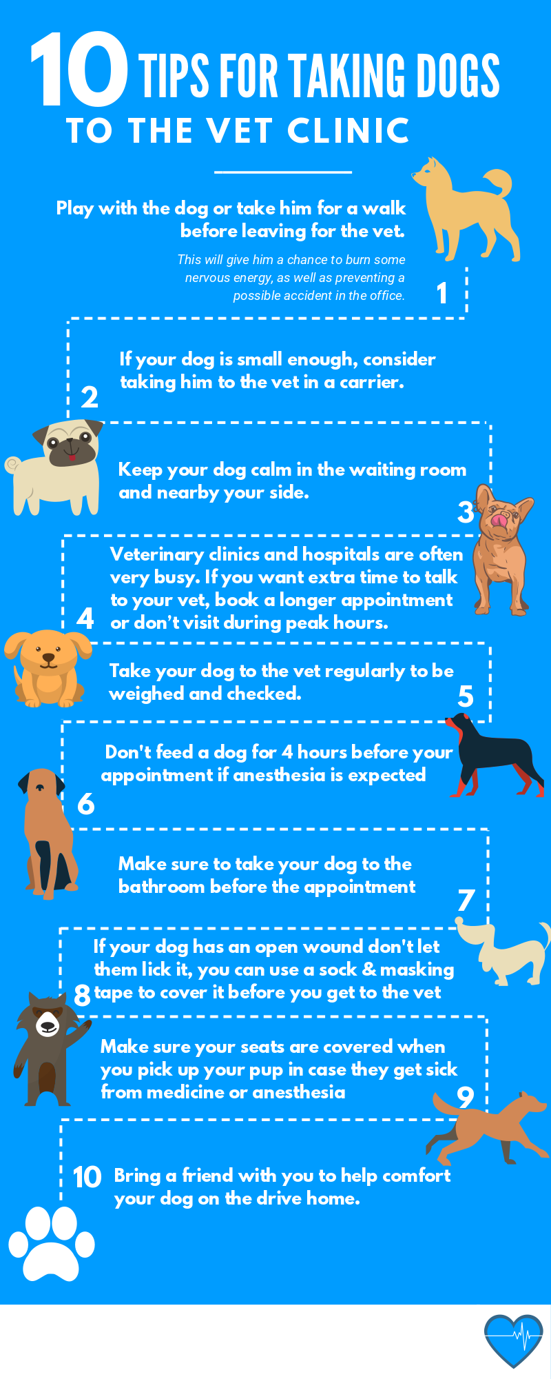 Follow These Simple Tips To Have A Great Experience Taking Your Dog To The Vet Clinic If You Love Animals You May Want To Consi Vet Clinics Vets Veterinarian