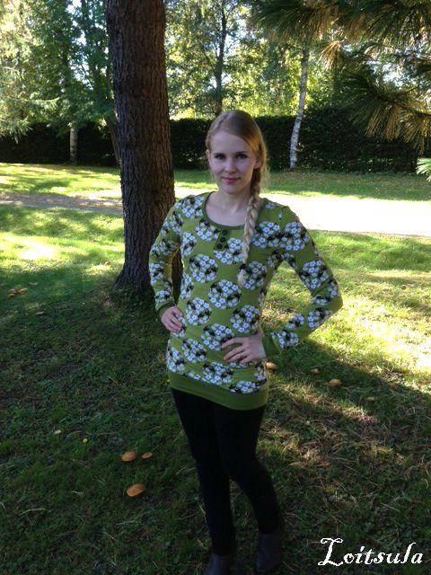 Loitsula: Linnunradasta mammalle paita
