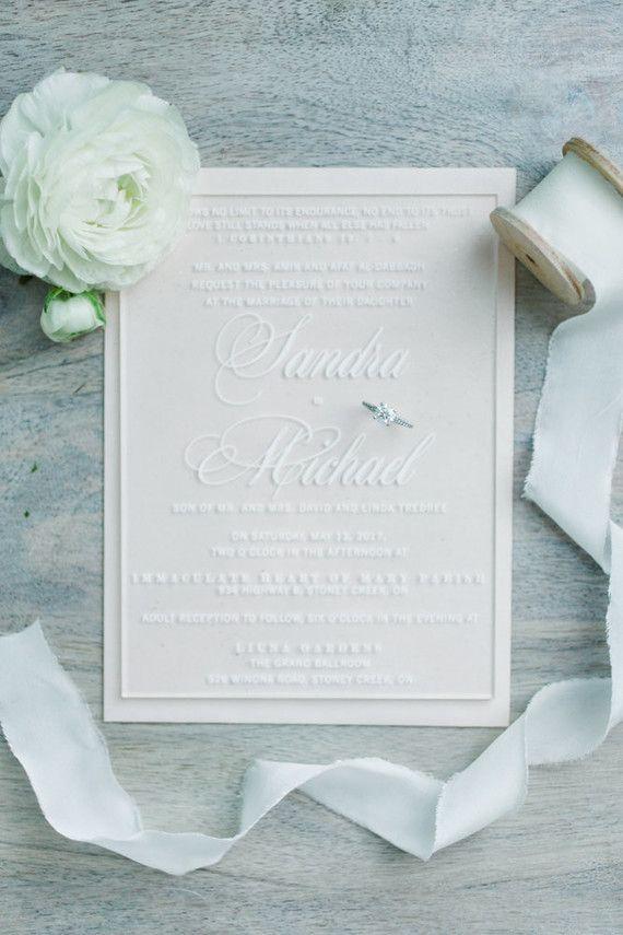 Elegant winter garden wedding ideas in Virginia   Acrylic ...