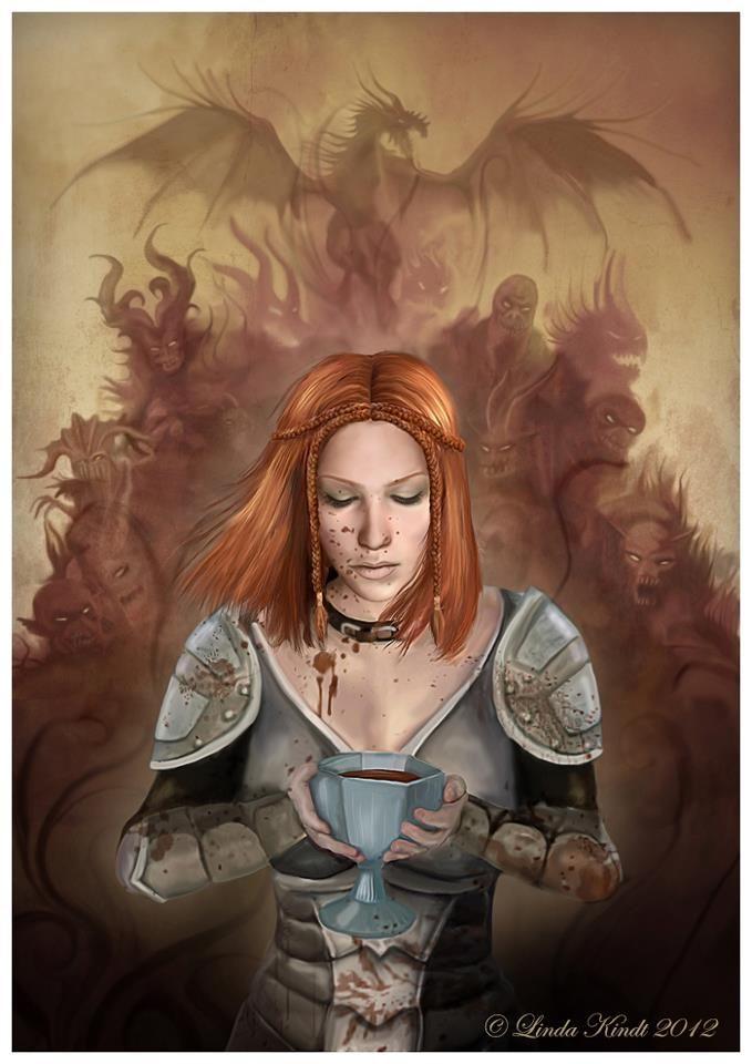 Leliana - Warden initiation ritual | Dragon Age | Dragon age