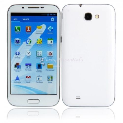 """NOTE 2 N7100 5.5"""" Android 4.0 Dual SIM Quad-band Wifi FM Bluetooth TV Touch Screen...Ships Free."""
