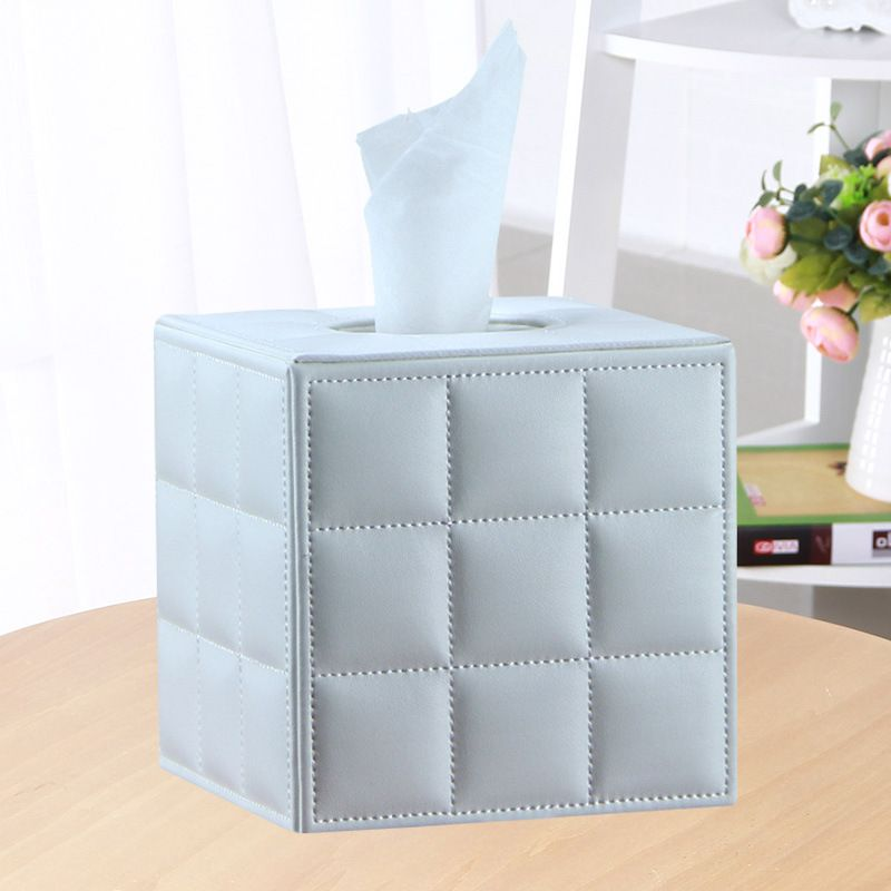 Luxury Modern Tissue Box Cover Holder Home Office Car Decorate New Hotel Table Napkin