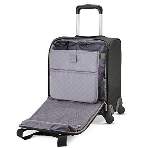fb471e5b8777a Carry-on luggage dimensions. Samsonite Underseat Spinner with USB Port