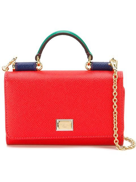 3261b0c374 DOLCE & GABBANA Mini 'Von' Wallet Crossbody Bag. #dolcegabbana #bags #shoulder  bags #hand bags #leather #crossbody #