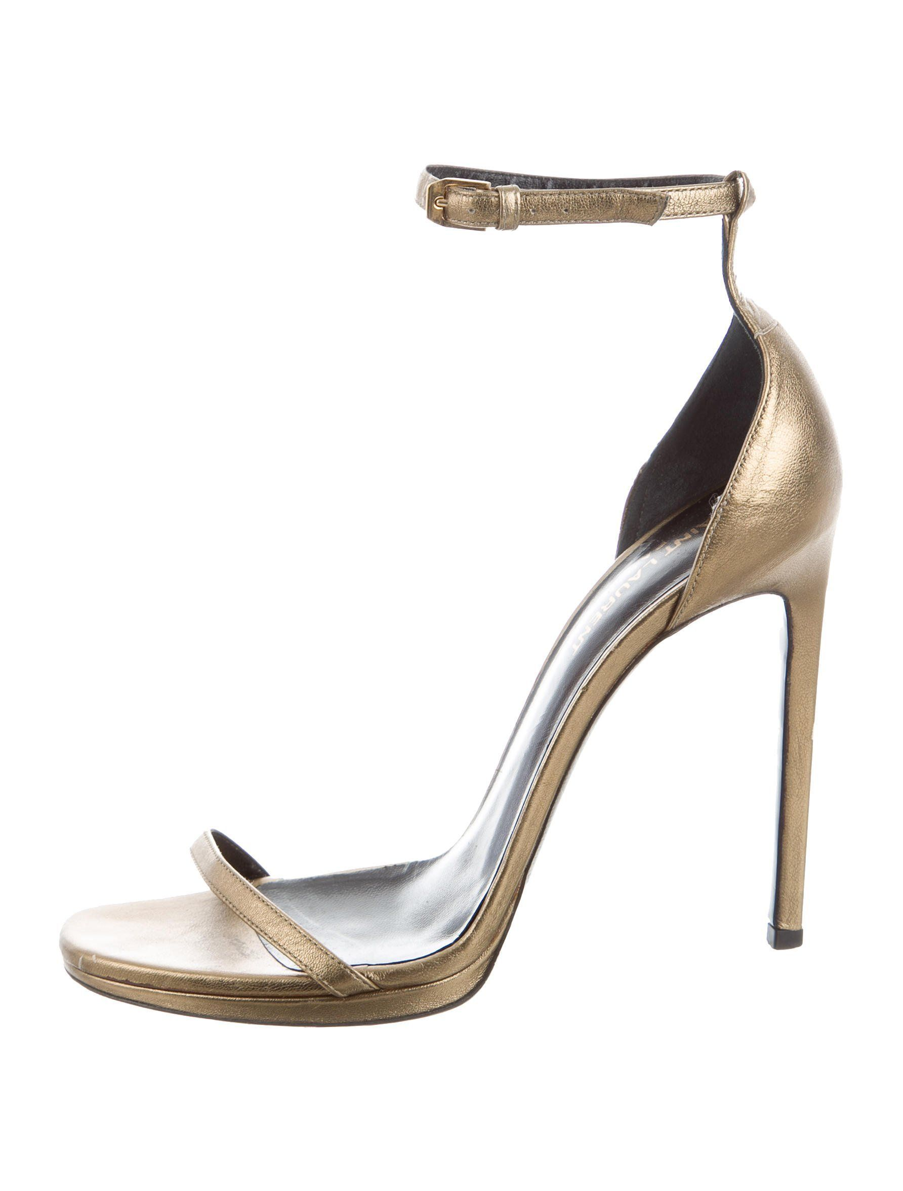 Yves Saint Laurent Ayers Ankle-Strap Pumps sale best wholesale clearance fashionable discount manchester great sale PMv83nrs