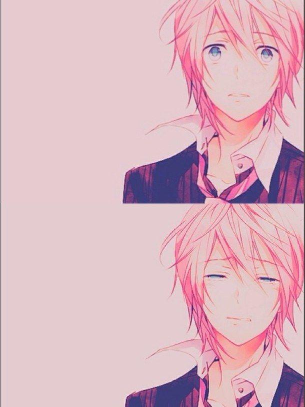 hug sad anime