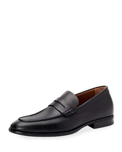 a766e383ee9 Aquatalia Men s Adamo Leather Dress Penny Loafers
